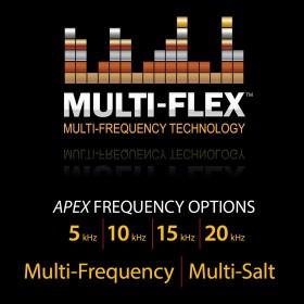Multi fréquences simultanées (Multi Flex)