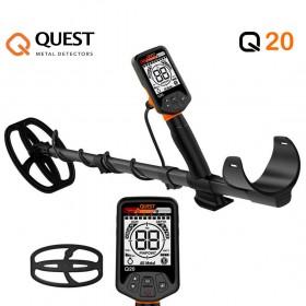 Détecteur de métaux Quest Q20 au meilleur prix