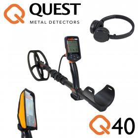 Quest Q40 avec disque 22x16 et casque audio sans fil
