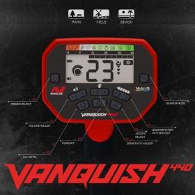 Écran de contrôle du Vanquish 440