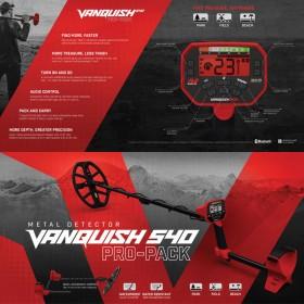 Boite du Vanquish 540 Pro Pack