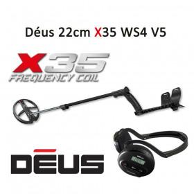 Détecteur de métaux XP Déus 22cm X35 WS4 V5