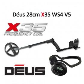 Détecter de métaux XP Déus X35 28cm WS4