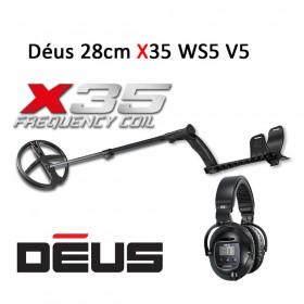 Détecteur XP Déus X35 28cm WS5