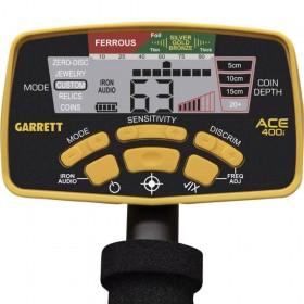 Écran de contrôle du Garrett 400i