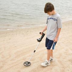Le Junior en action sur la plage