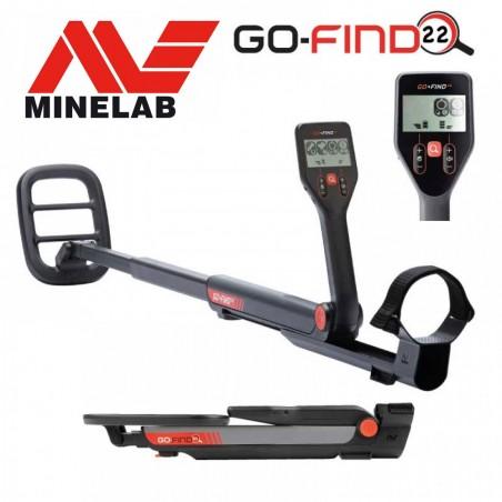 Détecteur de métaux Minelabe Go Find 22