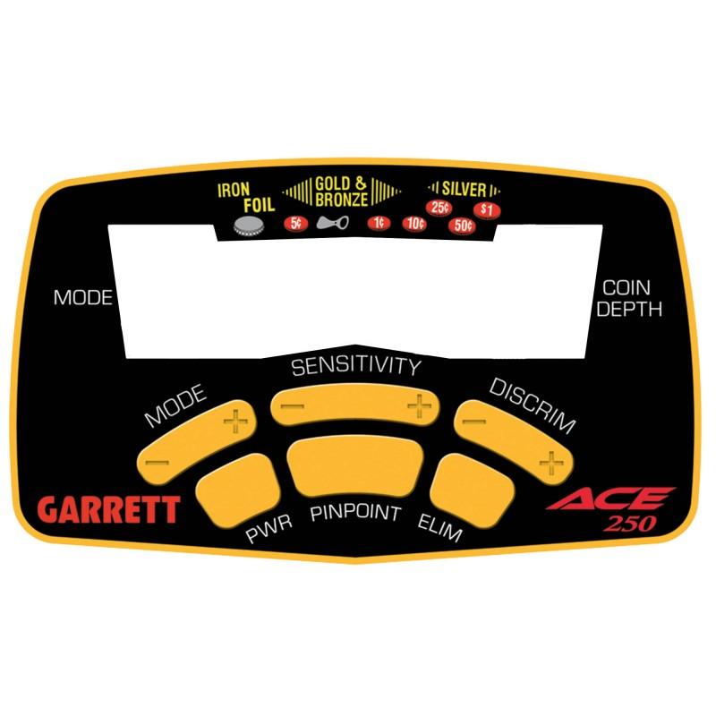 Autocollant de façade pour Garrett Ace 250