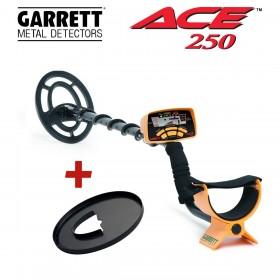 Détecteur de métaux Garrett ACE 250 et son protège disque