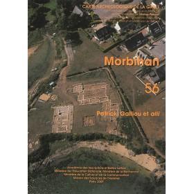 Carte archéologique du Morbihan
