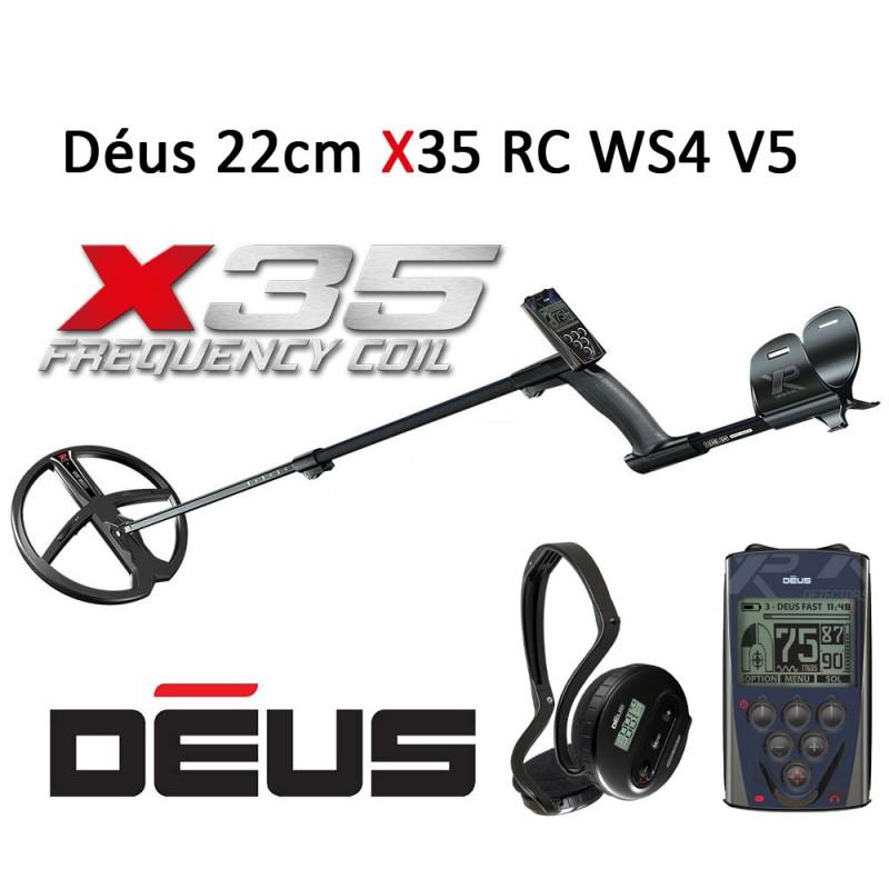 Détecteur de métaux XP Déus X35 22cm RC WS4 V5