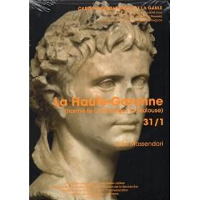 Carte archéologique haute garonne (31) (ormis Comminges et Toulouse)