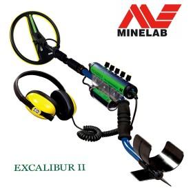 Détecteur de métaux étanche Minelab Excalibur II