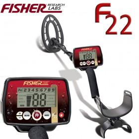 Détecteur de métaux Fisher F22