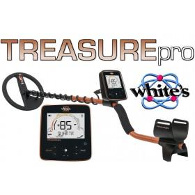 écran de contrôle du treasure pro