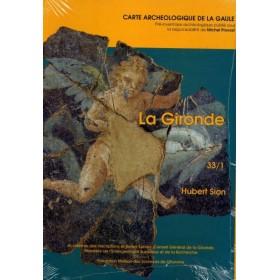 Carte archéologique de la gironde (33)