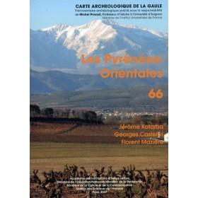 Carte archéologique des Pyrénées Orientales (66)