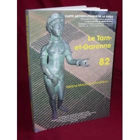 Carte archéologique du Tarn et Garonne (82)