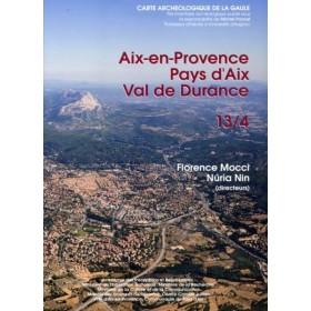 Carte archéologique d'Aix en provence (13)