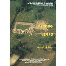 Carte archéologique de l'Yonne (89) Tome II