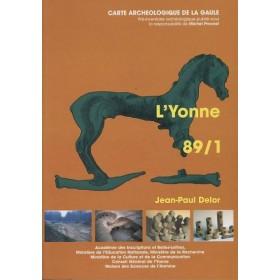 Carte archéologique de l'Yonne (89) Tome I
