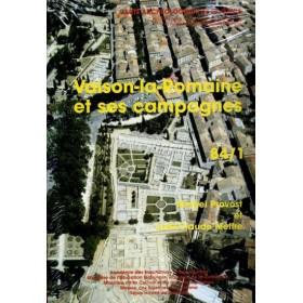 Carte archéologique de Vaison la romaine (84)