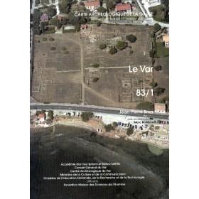 Carte archéologique Var Tome I (83)