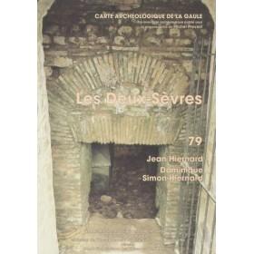 Carte archéologique des Deux-Sèvres (79)