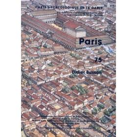 Carte archéologique de Paris (75)