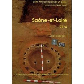 Carte archéologique de la Saône et Loire (71) Tome IV