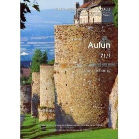 Carte archéologique d'Autun (71) Tome I