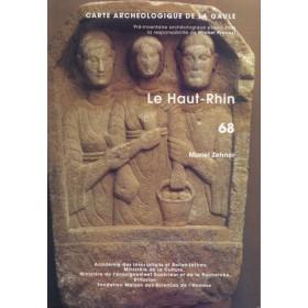 Carte archéologique du Haut-Rhin (68)