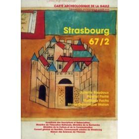 Carte archéologique de Strasbourg (67)