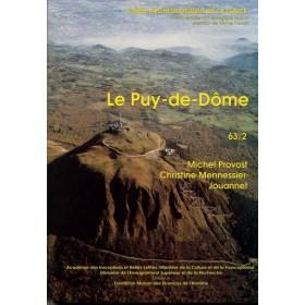 Carte archéologique du Puy de Dôme (63)