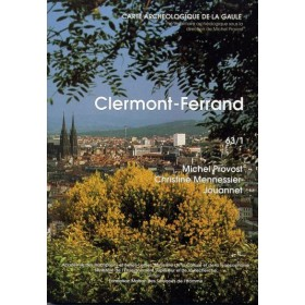 Carte archéologique de Clermond-Ferrand (63)