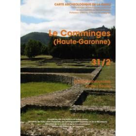 Carte archéologique de la Haute Garonne (31) Tome II le Comminges