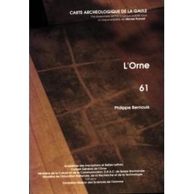 Carte archéologique de l'Orne (61)