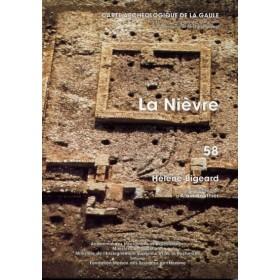 Carte archéologique de la Nièvre (58)