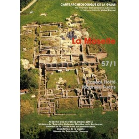 Carte archéologique de la Moselle (57)