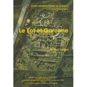 Carte archéologique du Lot et Garonne (47)