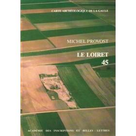 Carte archéologique du Loiret (45)