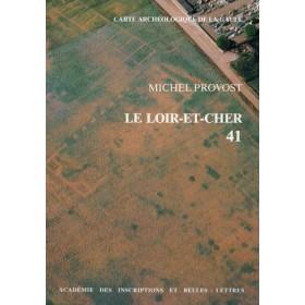 Carte archéologique du Loir et cher (41)