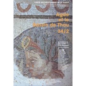 Carte archéologique de l'Hérault (34) Tome 2, Agde et l'étang de Thau