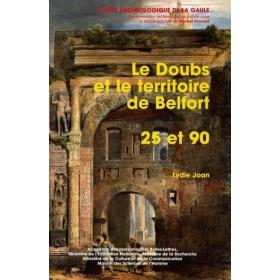 Carte archéologique du Doubs (25) et du Territoire de Belfort (90)