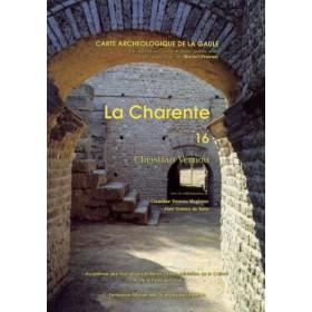Carte archéologique de la Charente (16)