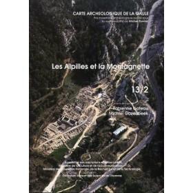Carte archéologique des Bouches du Rhône (13) Alpilles et la montagnette Tome 2