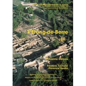 Carte archéologique des Bouches du Rhône (13). Étang de Berre Tome 1