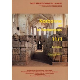 Carte archéologique de l'Aude (11) Narbonne