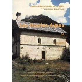 Carte archéologique des Hautes Alpes (05)