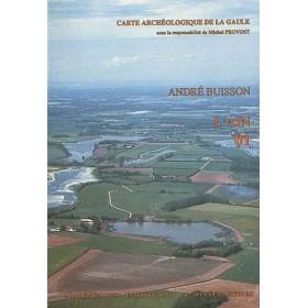 Carte archéologique de l'Ain (01)